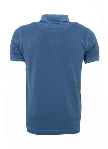 Lufian Tişört İndigo